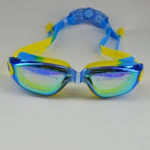 New goggles with UV shield anti-fog blue yellow